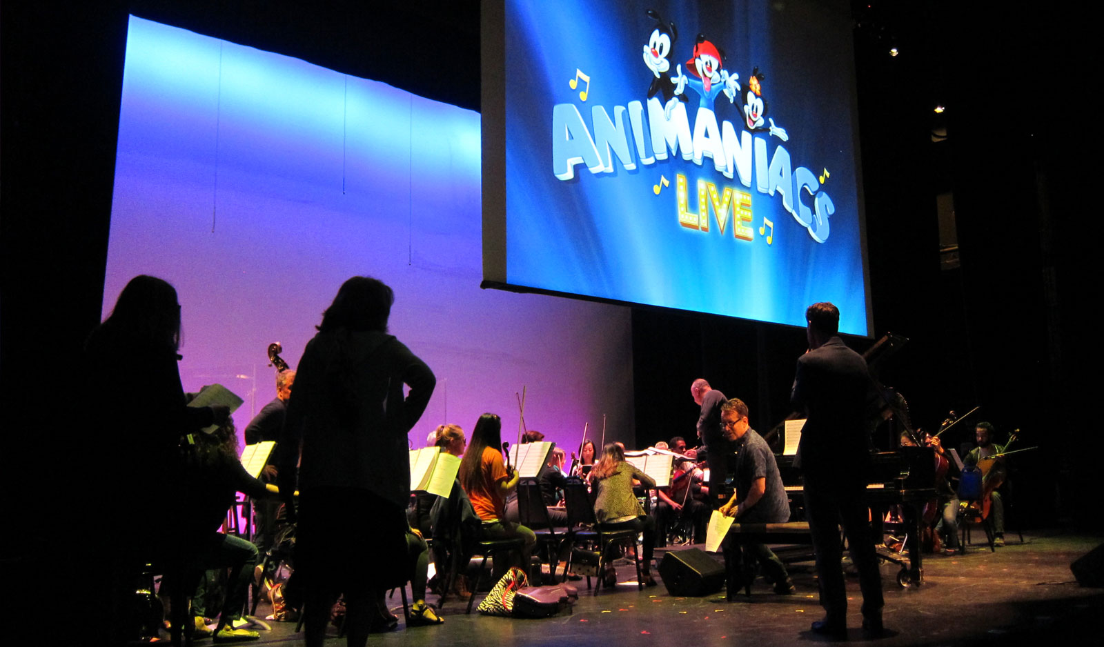 Gifts and donations from supporters like you made events like Animaniacs Live! possible.